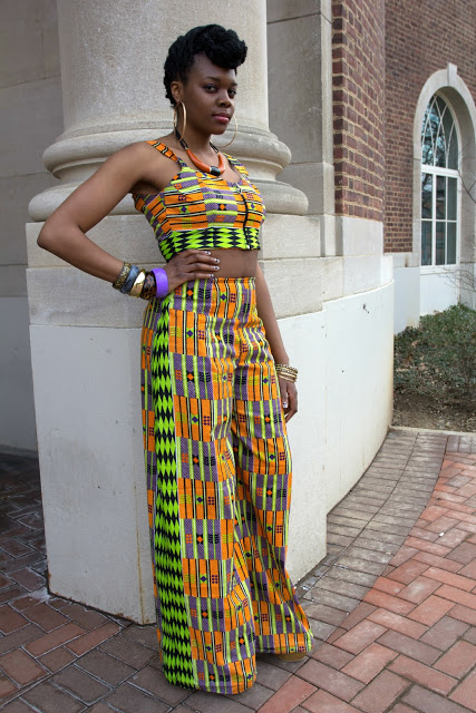 kakki chitenge design alert crop top rocking the midriff