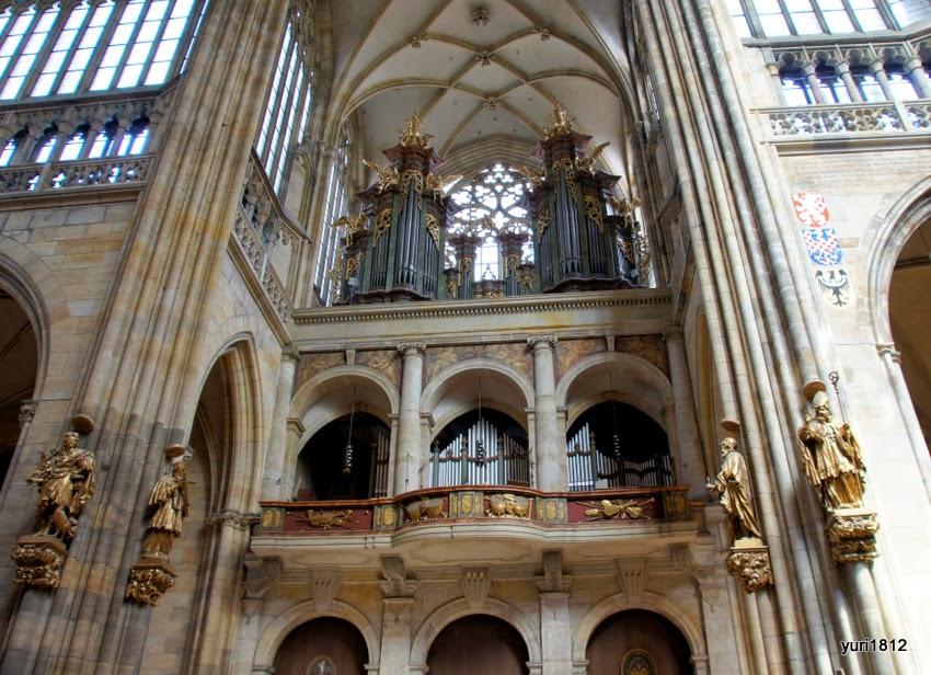 Орган собора считается одним из лучших в Европе.