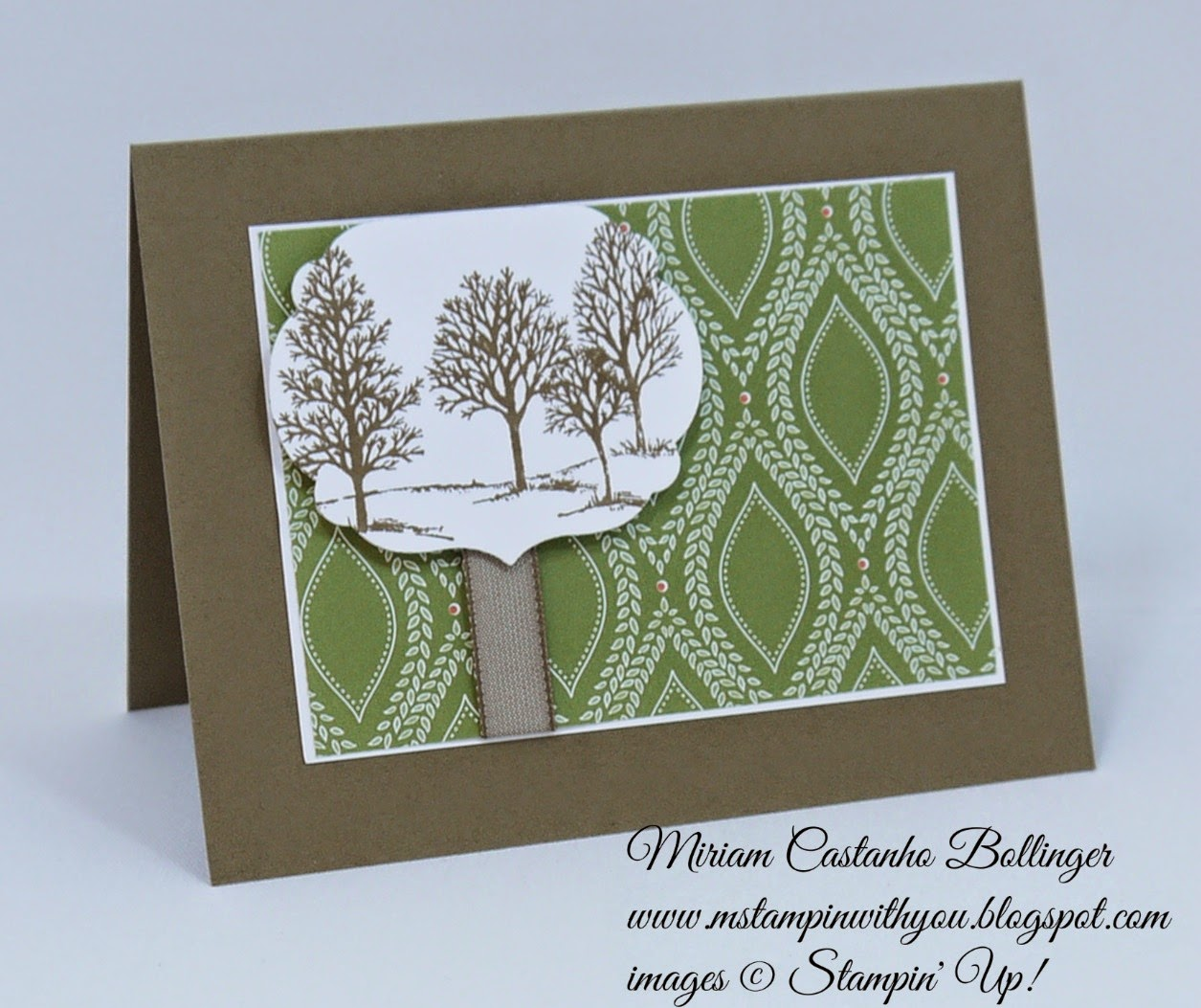 Miriam Castanho Bollinger, mstampinwithyou, stampin up, demonstrator, ppa, pp, park lane dsp, lovely as a tree, labels collection, big shot, su
