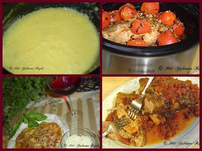 Chunky Pork Shoulder Ragu over Polenta Recipe