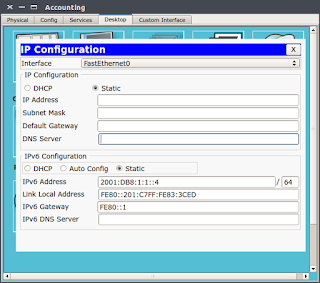 Configuring IPv6 Addressing