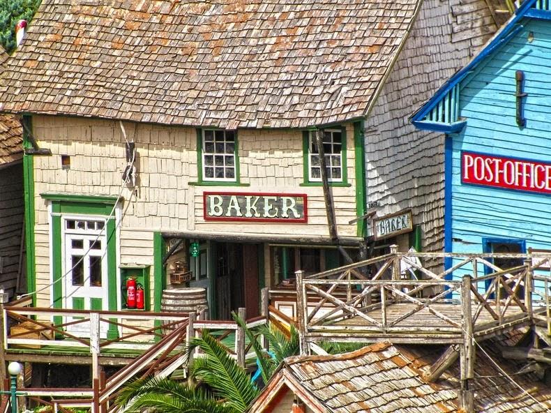 Popeye Village (el Pueblo de Popeye) en Malta