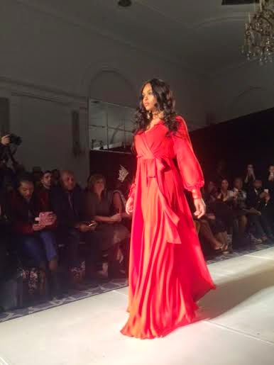 JM Couture, Jim MUllin designs, best couture gowns fashion week, New York Fashion Week, NYFW, f/w 15 collections, blue sequin gown, best red carpet gowns for awards, one arm floor length gown, JM collection, best collections NYC, runway show reviews fall and winter 2015