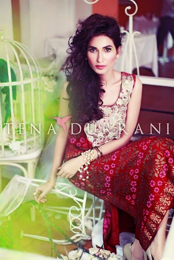 Tena Durrani Eid Ul Adha Dress Collection 2014