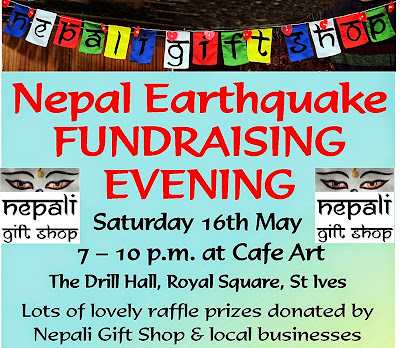 Nepal Earthquake Fundraising Evening - St Ives Cornwall