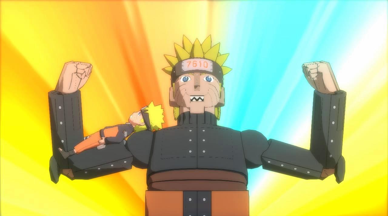 Mecha Naruto in Storm Revolution Ninja Word Yournament
