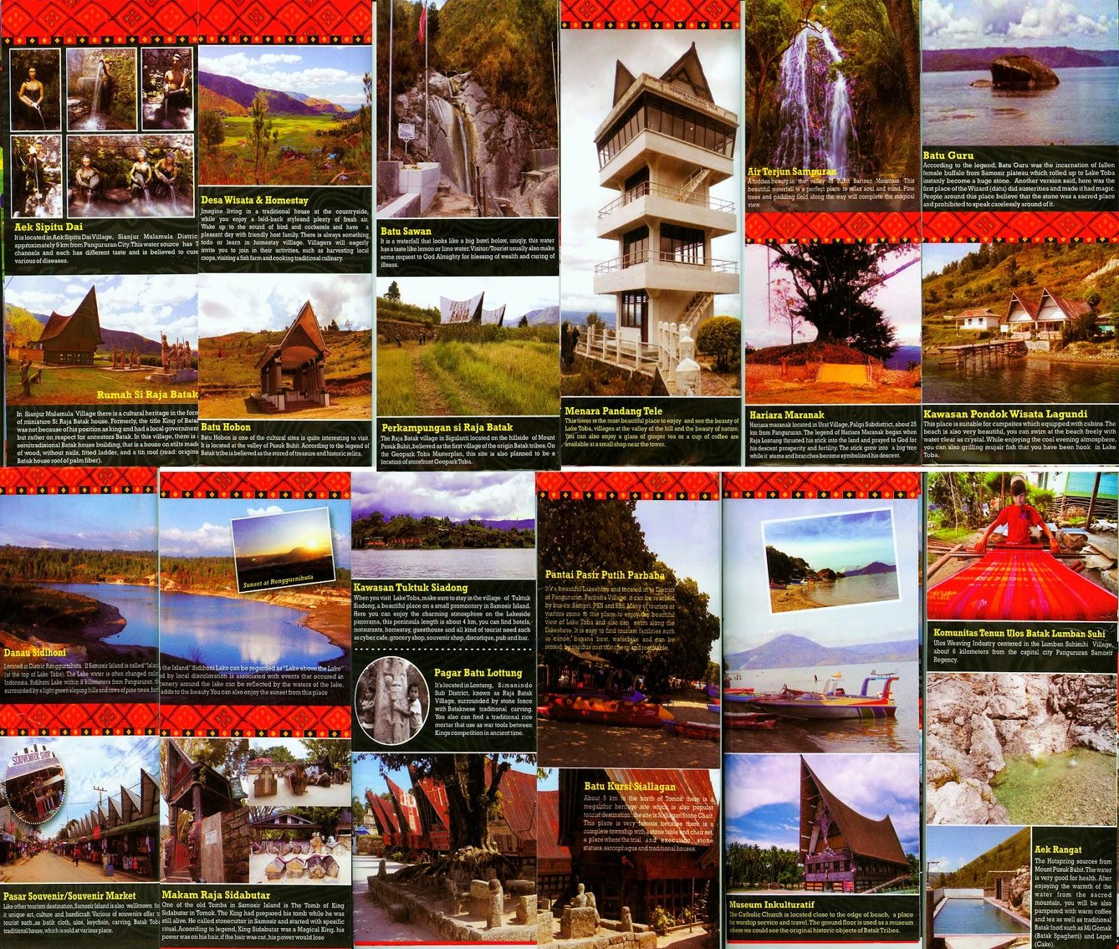 Objek Wisata Kabupaten Samosir
