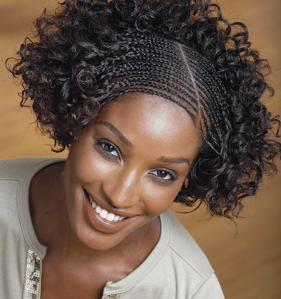 African French Braid Hairstyles http://exoticafashion.blogspot.com/2011/08/braids-hair-styles.html