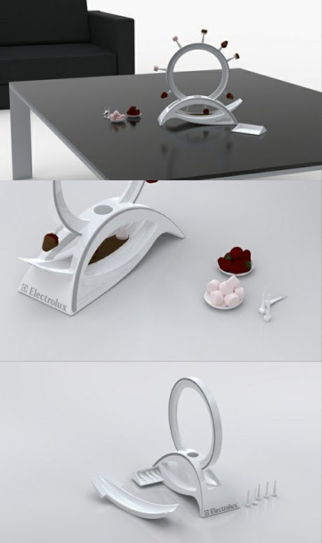 Loop, noria chocolate, fresas, dulces - Electrolux
