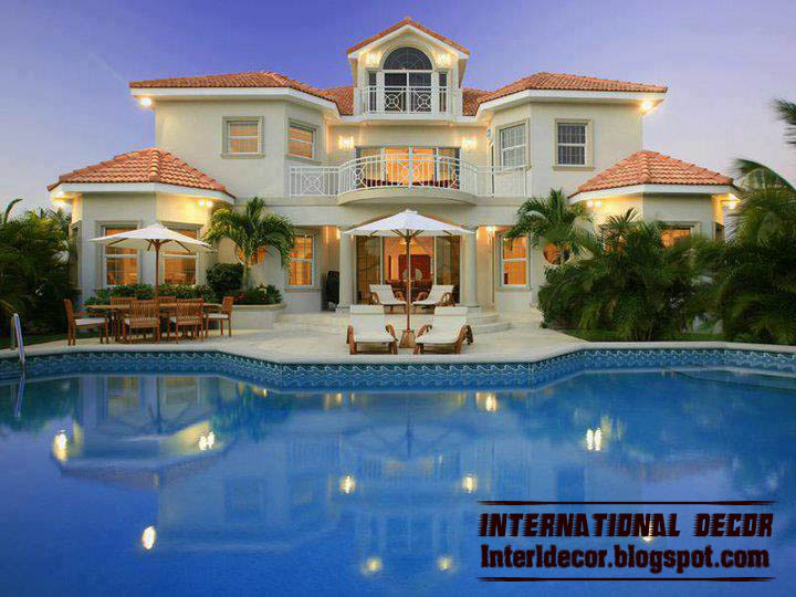 Interior and architecture modern exterior villa designs for Best villa plans