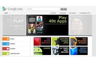 Hola Google Play: el Android Market cambia de nombre