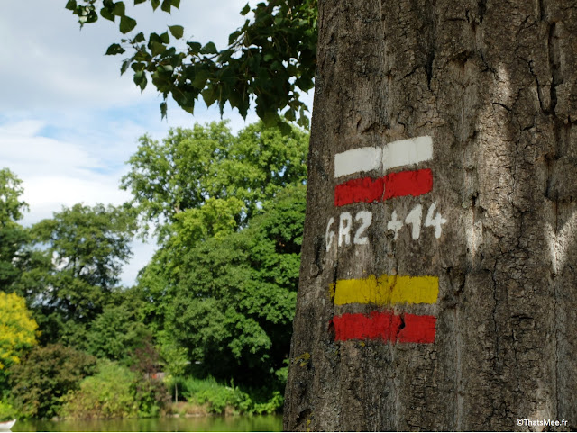 Rando GR14 et GR14A, Bois de Vincennes Paris 12ème