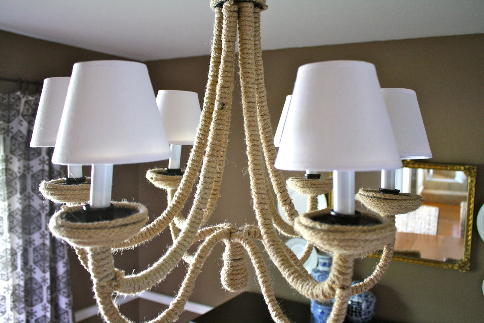 Diy Chandelier Remodelaholic Knockoff Diy Chandelier