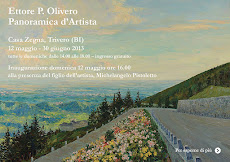 Mostra del pittore Ettore P.Olivero a Trivero - Casa Zegna