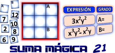 Cuadrados Mágicos, Cuadrados Mágicos 3x3, Cuadrados mágicos con solución, Cuadrados mágicos de orden 3