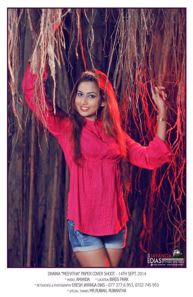 Amanda Nilukshi red