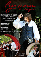 Cyrano de Bergerac à #Navarrenx #béarn