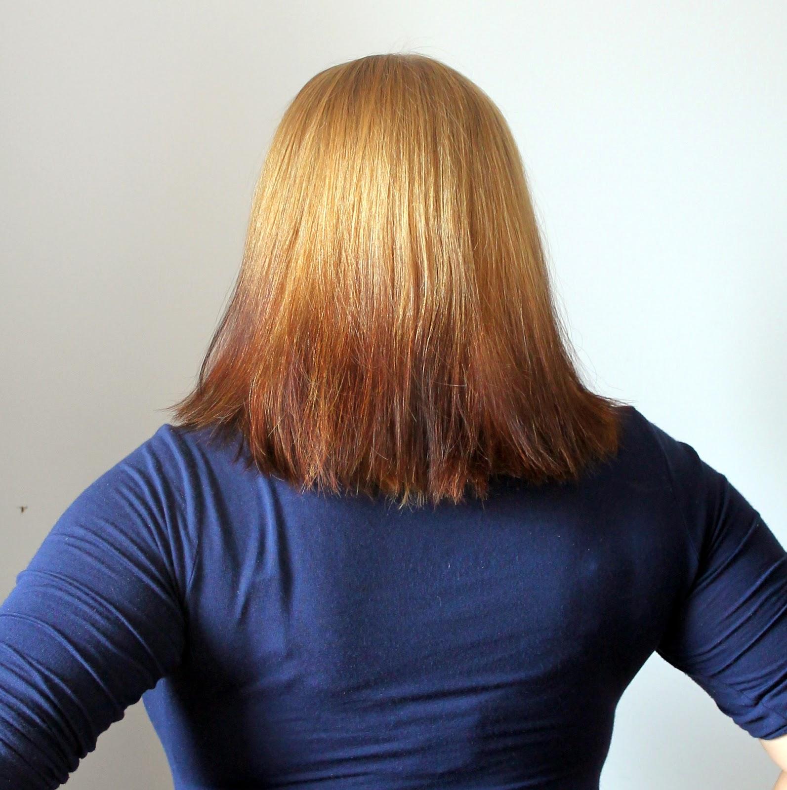 Włosy naturalne blond odrost