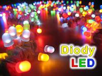 Diody LED (elektroluminescencyjne).