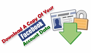 Download a Copy of your facebook account data