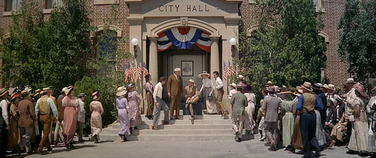 Dear Old Hollywood The Music Man 1962 Film Locations