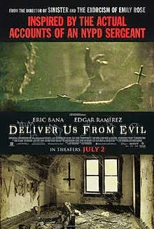 Deliver Us From Evil (2014) English Horror Movie Poster