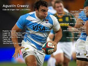 Agustín Creevy nuevo capitán de Los Pumas