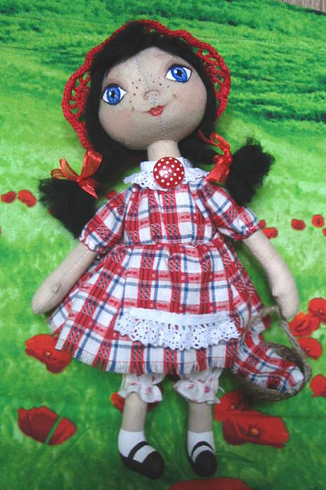 Как сделать куклу красную шапочку своими руками
