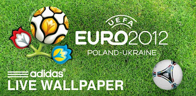"""*Free to download *Select national flags from all 16 qualifying countries *Add up to """"5 Tango"""" 12 footballs to the screen at any-one-time. *Customize the halfway lines to reflect the host nations, Poland and Ukraine. *Made with official release software to ensure quality and performance *Officially licensed release from adidas, sponsors of the UEFA Euro 2012 championship."""
