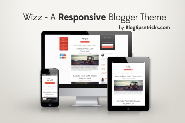 Wizz Responsive Blogger Theme Demo