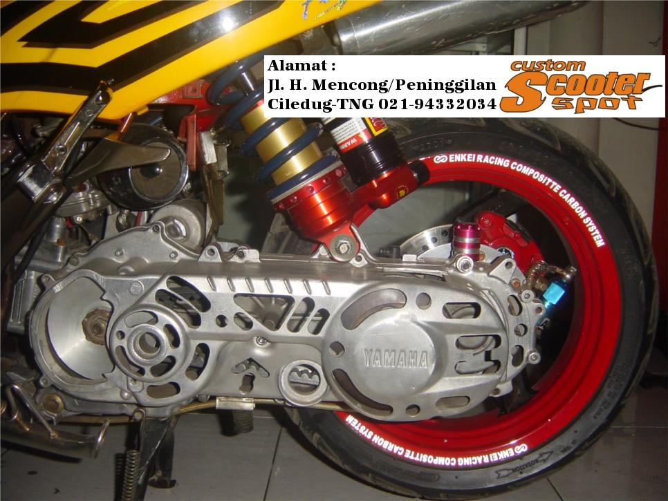 Jual Yamaha Fino Modif | Modifikasi Motor Yamaha 2016