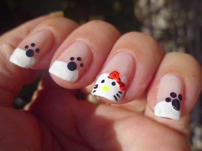 manicuras con gatos