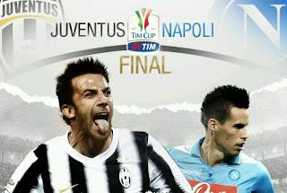 Hasil Skor Juventus vs Napoli Final Coppa Italia 21 Mei 2012