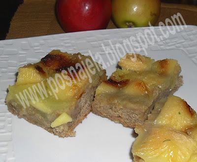 Колач од јабука и хлеба