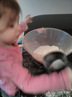 mix dough