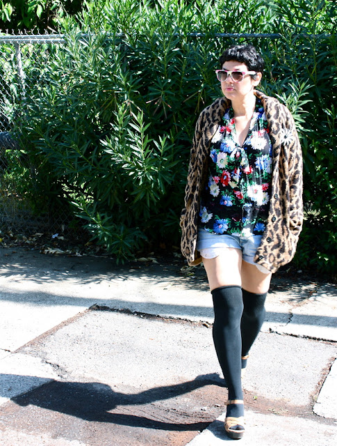 outfit post: Flora + Fauna