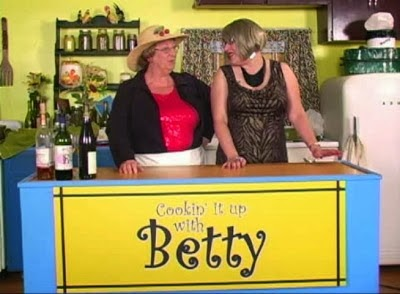 Sassy guest Destiny Disaster who questions her cooking skills on Cooking it up with Betty
