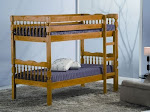 Birlea Weston Chunky Pine Bunk Bed - Will Split into Two Single Beds