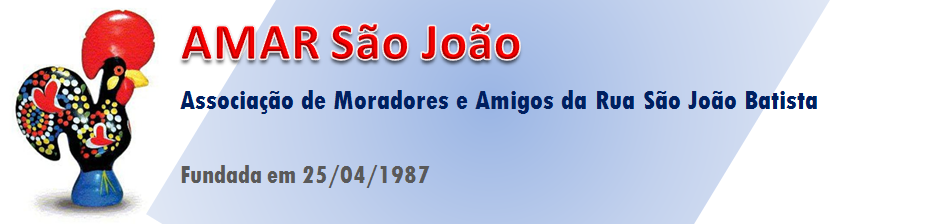 AMAR - Associação de Moradores e Amigos da Rua São João Batista