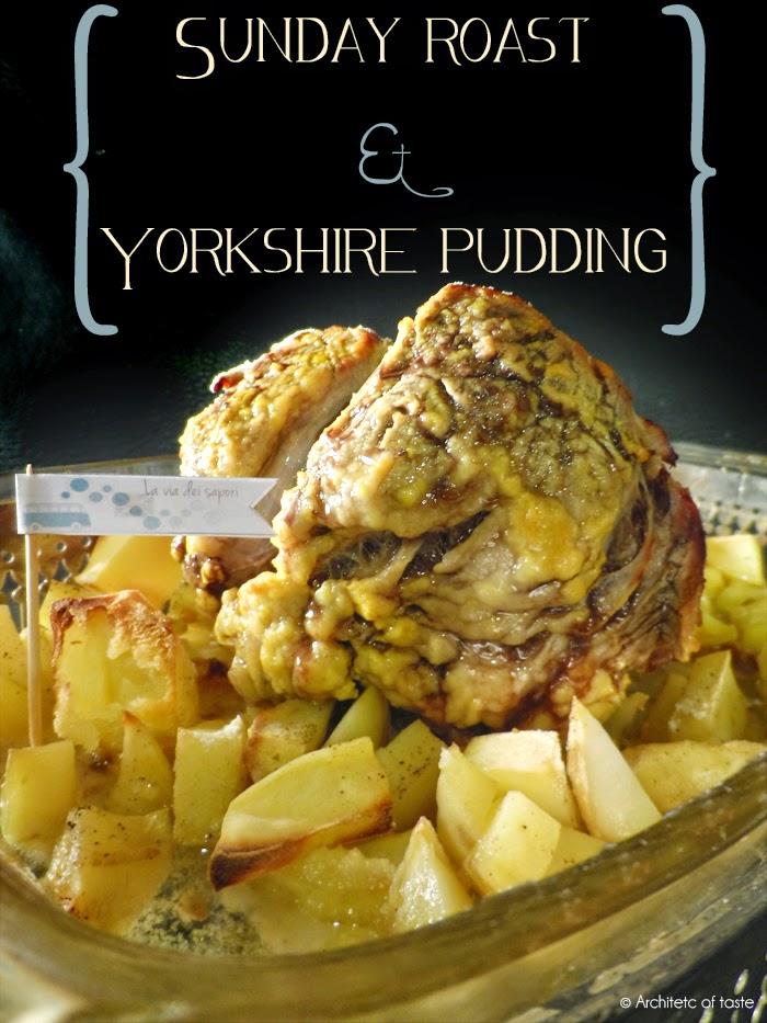 sunday roast & yorkshire pudding