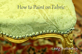 How to use Chalk Paint® on Fabric<br>