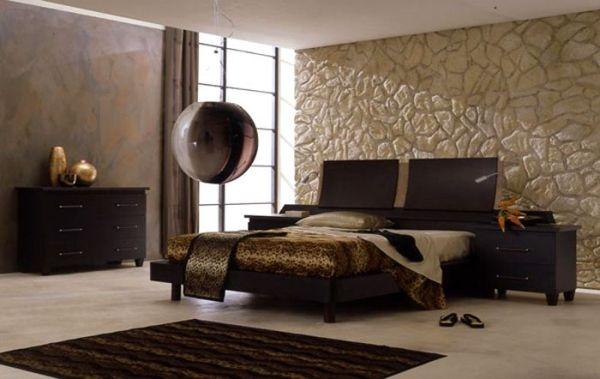 Dormitorios modernos color marr n dormitorios colores y for Diseno de habitacion principal