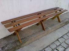 ------------------------------- Banco Vestiário em madeira modelo PMS-200 - R$320,00