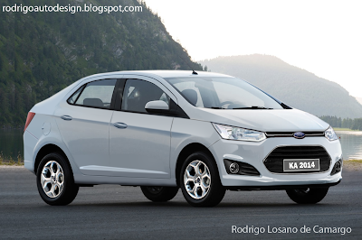 Rodrigo auto Design: Ford Ka sedan 2014