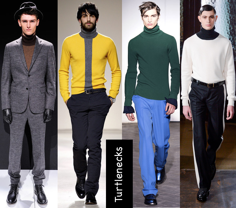 mens fall 2013 turtlenecks trend