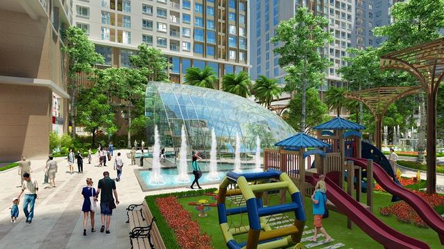 Eco spring nguyễn xiển chú trọng phát triển không gian xanh