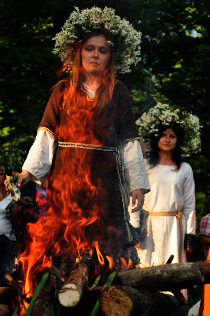Czarownica spalona na stosie