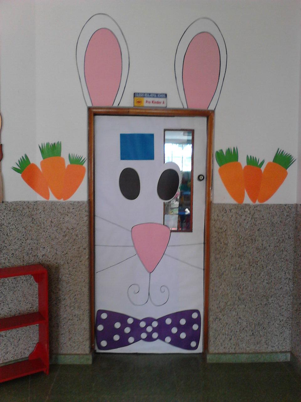 Lic danellis rodriguez ambientaci n de espacios escolares for Puertas escolares decoradas