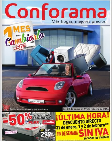 catalogo conforama enero-feb 2014