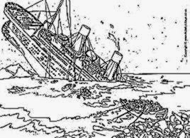 titanic coloring pages inspire kids